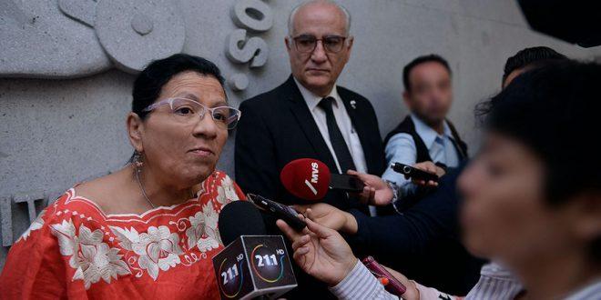 Entrevista de la Presidenta de la CDHDF, Nashieli Ramírez Hernández, al terminar la Firma del Convenio de Colaboración con la Universidad Autónoma Metropolitana.