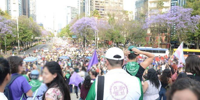 Galería: CDHDF acompañó marcha #8M 2019