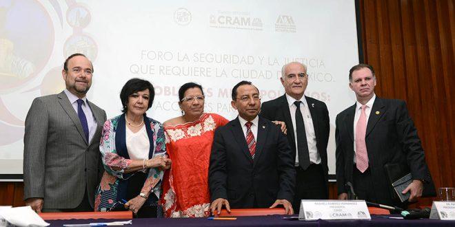 """Se realiza en CDHDF el Foro """"La seguridad y la justicia que requiere la Ciudad de México"""""""