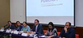 Reciben CDHDF, junto con legisladores, propuestas ciudadanas para el desarrollo de la Ciudad