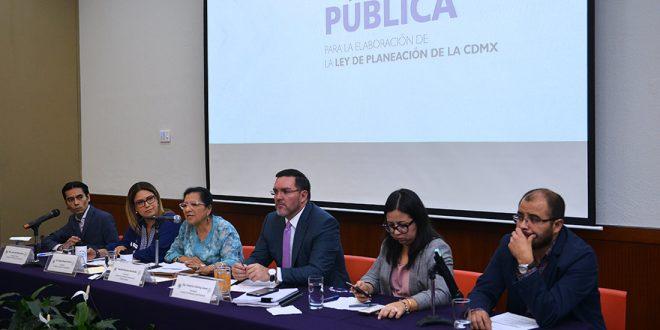 Galería: Audiencia Pública para la Elaboración de la Ley de Planeación de la CDMX