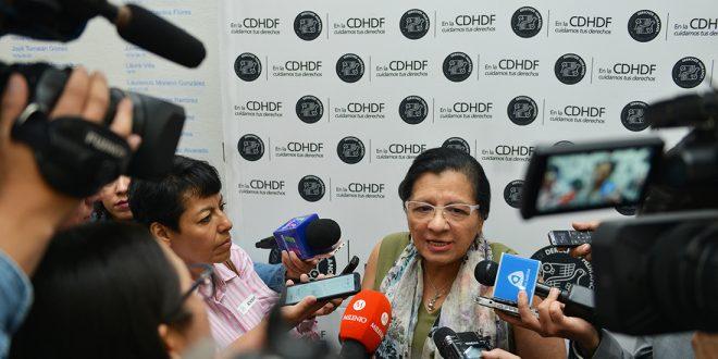 Entrevista de la Presidenta de la CDHDF, Nashieli Ramírez Hernández, en el Foro #MeTooMX