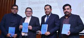 Presentan en CDHDF nueva edición del libro Derechos Humanos, Democracia y Desarrollo