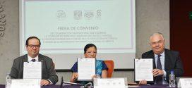 CDHDF Firma Convenio con la Facultad de Medicina de la UNAM, a través de su Licenciatura en Ciencia Forense
