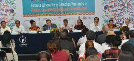 Galería: Inauguración Escuela Itinerante de DDHH de Pueblos, Comunidades Indígenas y Afromexicanas