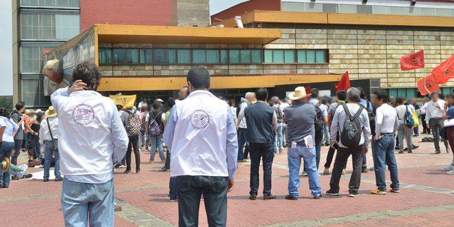Galería: CDHDF acompaña movilización de docentes, alumnas y alumnos de CCH
