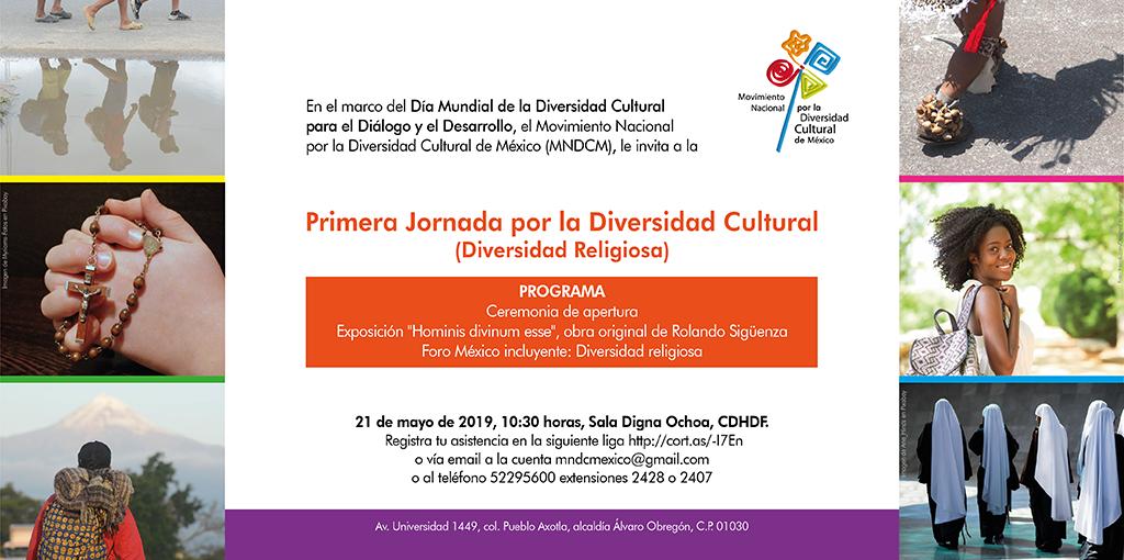 Primera Jornada por la Diversidad Cultural (Diversidad Religiosa) @ CDHDF