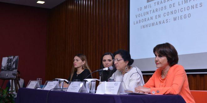 Insiste CDHDF en visibilizar la labor de 10 mil trabajadores voluntarios de limpia y garantizar el ejercicio de  sus derechos