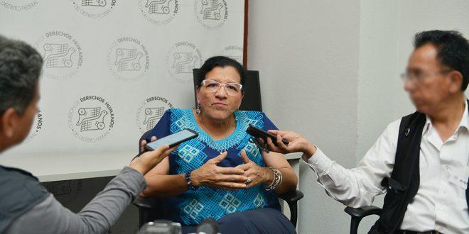 """Entrevista a la Presidenta de la CDHDF, Nashieli Ramírez Hernández, en el Marco de la Inauguración del Taller """"Seguridad y Derechos Humanos"""""""