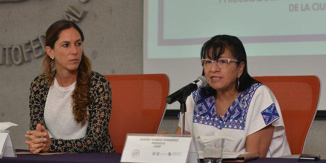 Palabras de la Presidenta de la CDHDF, Nashieli Ramírez Hernández, en la Firma de Convenio de Colaboración Institucional con la PAOT