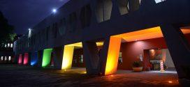 Galería: CDHDF ilumina su sede con los colores LGBTTTIQA+