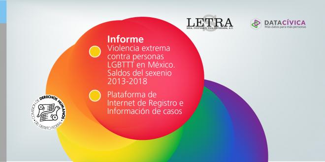 Informe Violencia extrema contra personas LGBTTT en México