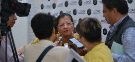 Entrevista a la Presidenta de CDHDF, Nashieli Ramírez, después de la «Mesa de Análisis sobre la Consulta Infantil y Juvenil 2018»