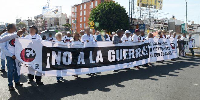 Galería: CDHDF acompañó marcha «Sin justicia no hay memoria» #Halconazo