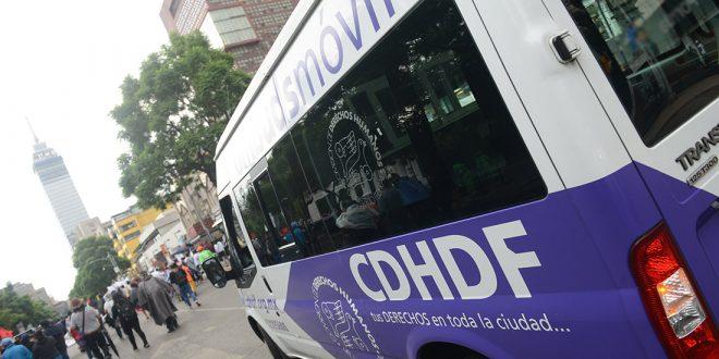 Galería: CDHDF acompañó marcha #Ayotzinapa57Meses