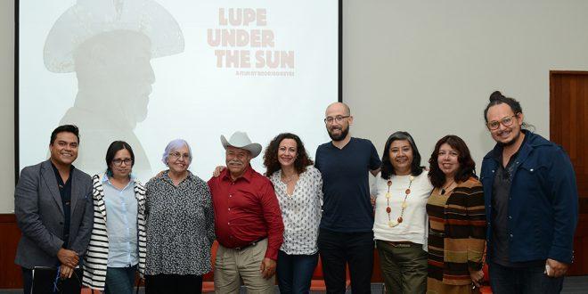 Galería: Proyección de la película «Lupe bajo el sol»