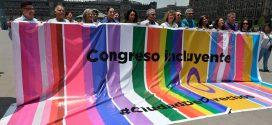 Galería: Despliegue de banderas LGBTTTIQA+ en Congreso CDMX, Zócalo capitalino