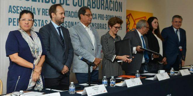 Exhorta CDHDF a conformar una defensoría pública para defensores y periodistas