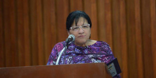 """Discurso de la Presidenta de la CDHDF, Nashieli Ramírez Hernández, en la ceremonia de entrega del Reconocimiento """"Hermila Galindo"""" 2019."""