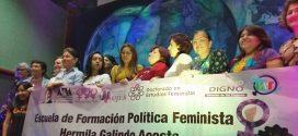 Galería: Escuela de Formación Política Feminista Hermila Galindo Acosta