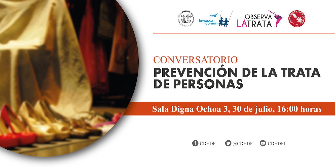 Conversatorio Prevención de la trata de personas.   @ CDHDF