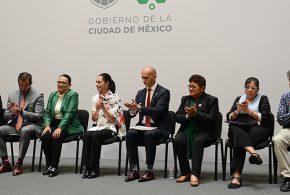 Galería: Presentación de Comisiones contra la Corrupción Policial y la Violencia a Mujeres Policías en la CDMX
