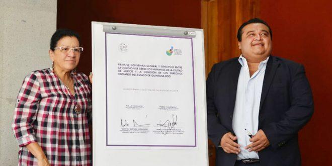 Defensoría de la Ciudad de México fortalece vínculos de trabajo con la Comisión de Derechos Humanos de Quintana Roo