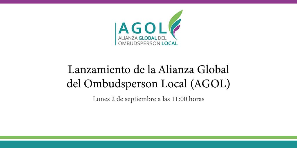 Lanzamiento de la Alianza Global del Ombudsperson Local (AGOL)