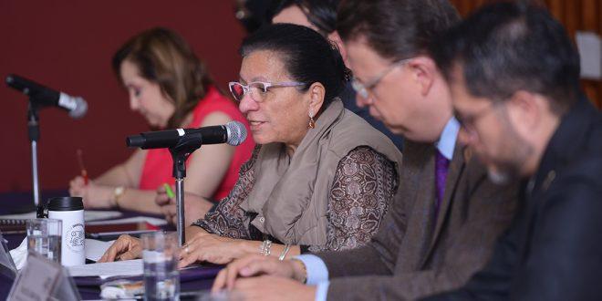 Discurso de la Presidenta de la CDHCDMX, Nashieli Ramírez, durante el Conversatorio Participación Política en el Sistema Penitenciario.