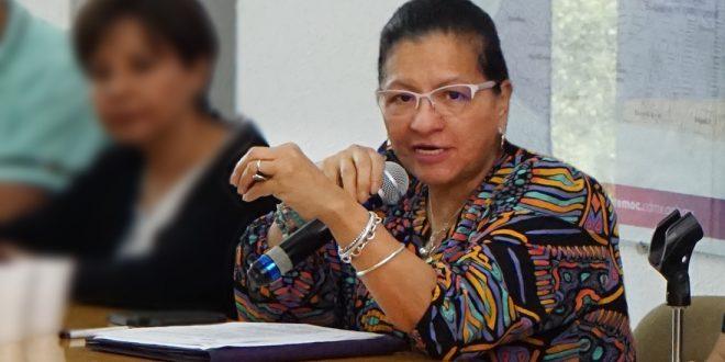 """Palabras de la Presidenta de la CDHCDMX, Nashieli Ramírez, durante la presentación del Programa Social """"Participación Arte y Cultura Incluyente""""."""