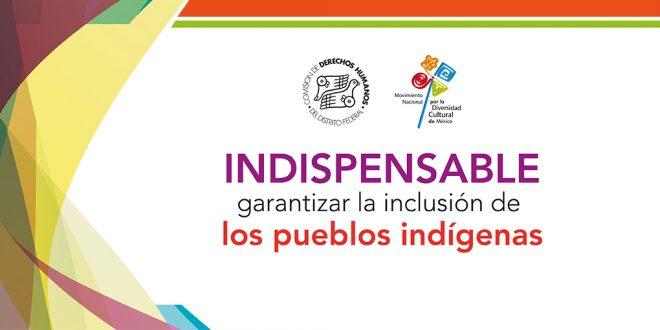 Indispensable garantizar la inclusión de los pueblos indígenas