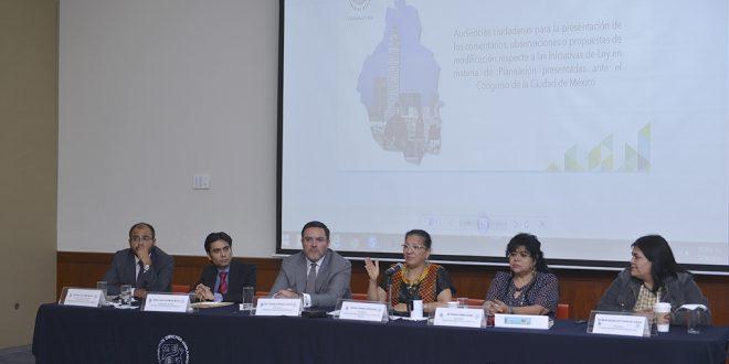"""Palabras de la Presidenta de la Comisión de Derechos Humanos de la Ciudad de México, Nashieli Ramírez, en la """"Presentación de Propuestas Respecto a las Iniciativas de Ley en Materia de Planeación""""."""