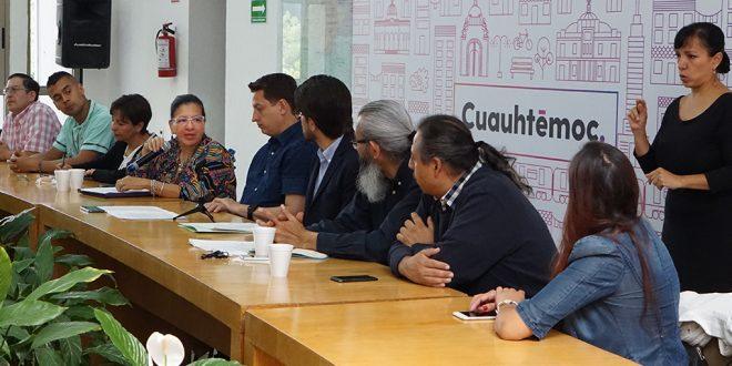 Galería: Presentación del Programa Participación Arte y Cultura Incluyente, en la Alcaldía Cuauhtémoc.