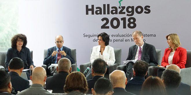 Galería: Reporte Hallazgos 2018 «Seguimiento y evaluación del sistema de justicia penal en México»