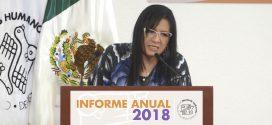 Discurso de la Presidenta de la Comisión de Derechos Humanos de la Ciudad de México, Nashieli Ramírez Hernández, con motivo de la presentación del Informe Anual 2018