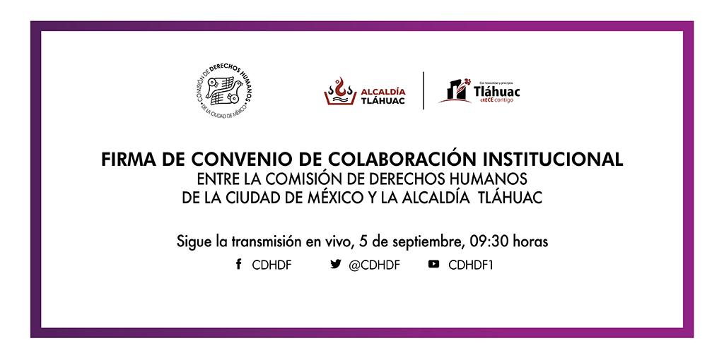 Inauguración de la Delegación de este Organismo en la Alcaldía de Tláhuac.