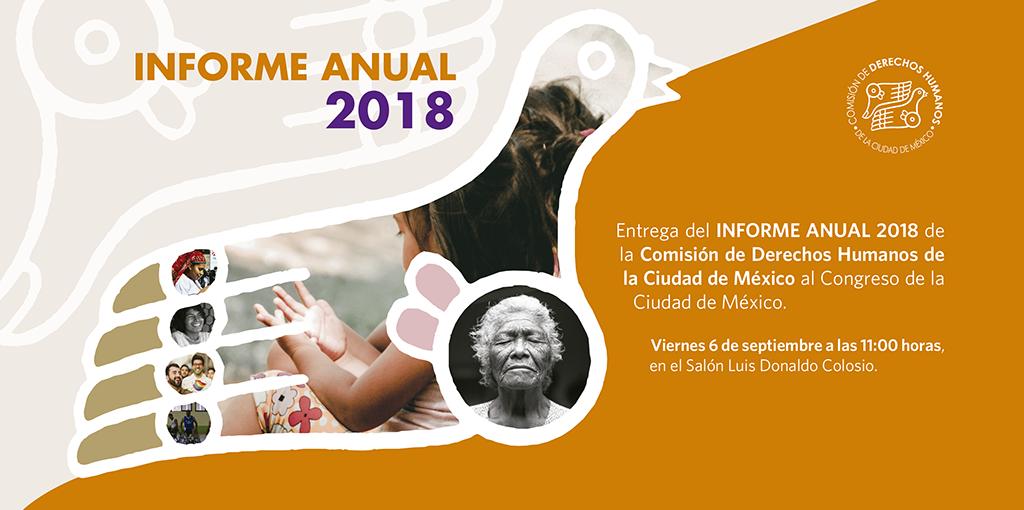 Entrega del Informe Anual 2018 al Congreso de la Ciudad de México