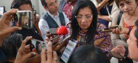 Entrevista a la Presidenta de la CDHCM, Nashieli Ramírez, luego de la presentación del Informe de Actividades 2018, ante la Comisión de Derechos Humanos del Congreso de la Ciudad de México