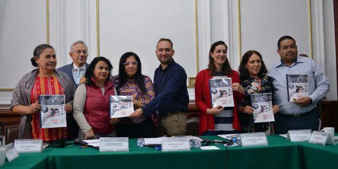 CDHCM entrega Informe Anual 2018 al Congreso de la Ciudad de México