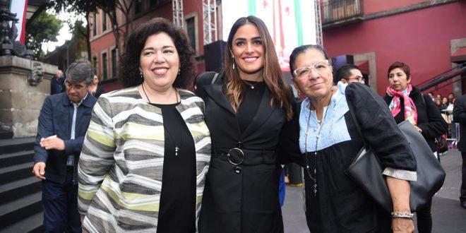 Entrevista a la Presidenta de la CDHCM, Nashieli Ramírez, en el Informe de la Jefa de Gobierno de la Ciudad De México, Claudia Sheinbaum Pardo.