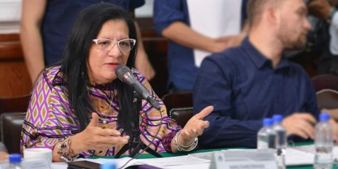 Discurso de la Presidenta de la CDHCM, en la Presentación del Informe de Actividades 2018 ante la Comisión de Derechos Humanos del Congreso de la Ciudad de México
