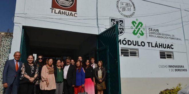 Galería: CDHCM inaugura Delegación en Alcaldía Tláhuac y firma Convenio