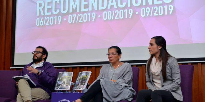 La CDHCM emite cuatro Recomendaciones por casos de hostigamiento sexual, violencia familiar, violencia sexual y feminicidios