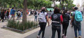 Galería: CDHCM acompaña movilización de mujeres #MareaVerdeMX en el marco del #28S