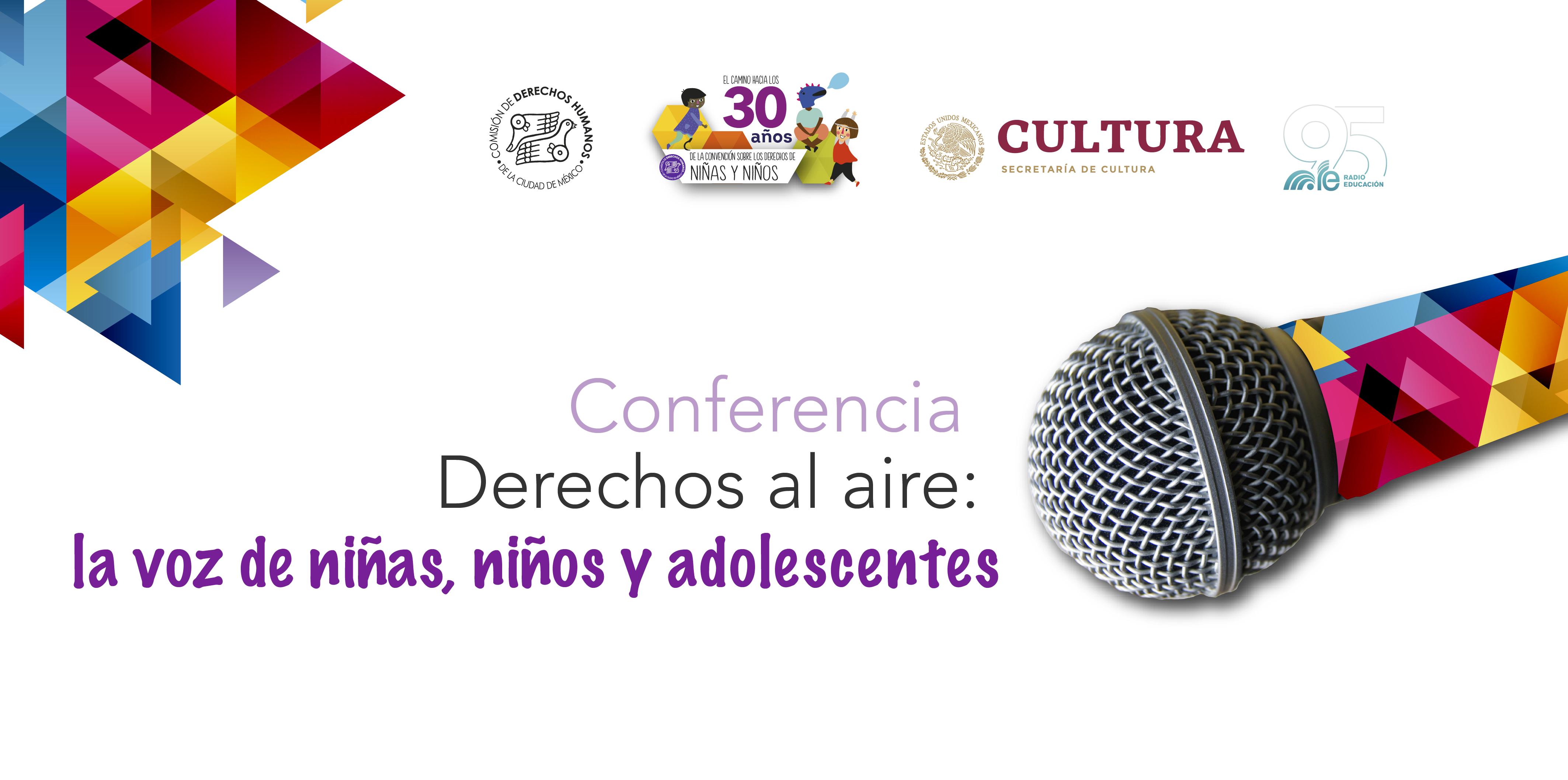 Conferencia de Prensa Convocatoria Derechos al aire: la voz de niñas, niños y adolescentes @ Av. Universidad 1449, colonia Pueblo Axotla, Alcaldía Álvaro Obregón