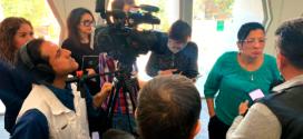 Entrevista a la Presidenta de la CDHCM, Nashieli Ramírez Hernández, en la presentación de Cursos en Línea con la CUAED de la UNAM