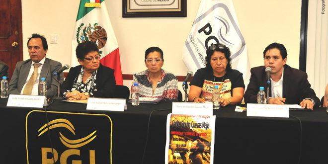 Galería: Presentación del Grupo Interdisciplinario de Expertos Independientes, derivado del cumplimiento de Recomendación 02/2018. Fotos: PGJ CDMX.