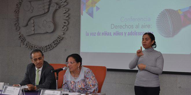 Conferencia «Derechos al aire: la voz de niñas, niños y adolescentes»
