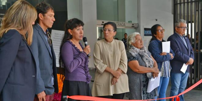Galería: CDHCM en instalación de ofrenda a víctimas de feminicidios infantiles