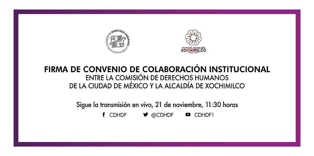 Inauguración de la Delegación de este Organismo en la Alcaldía Xochimilco @ Alcaldía Xochimilco